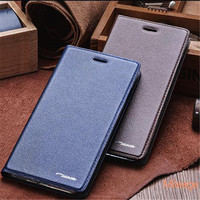 Superior Quality Genuine Leather Luxury Magnetic Stand Flip Cover Smart Case For Huawei Honor 9 Wake