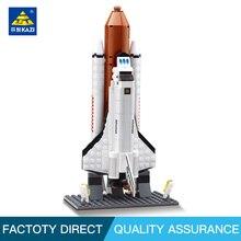 Kazi 83002 Figures Space Shuttle Expedition Model Building block Educational Christmas Toys for children Compatible leg0 цена в Москве и Питере