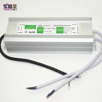 best price 1 pcs 12V 150W Waterproof Electronic LED Driver Power Supply Transformer 110V 260V 12v 12.5a IP67 outdoor power
