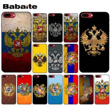 Yinuoda Rusia Lambang Double Headed Eagle DIY INDAH UNTUK iPhone X XS Max 6 6 S 7 7 Plus 8 8 PLUS 5 5S SE XR(China)