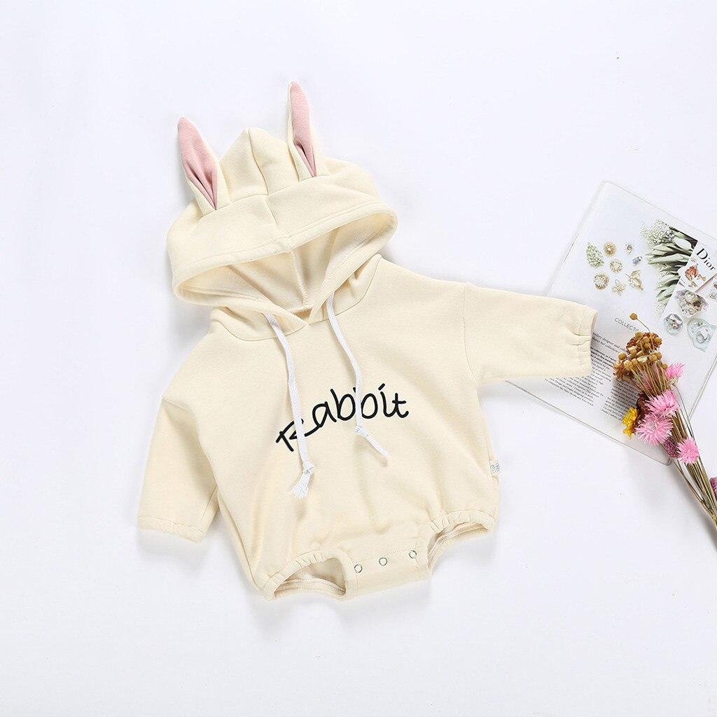 HTB1AOPXX4 rK1RkHFqDq6yJAFXaf Todder Kid new born baby clothes Girl Boy Rabbit Letter Sweatshirt Tops Spring Autumn clothes Pullover Bodysuit baby costumes