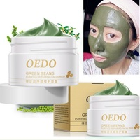 Face Cleansing Mung Bean Mud Peeling Acne Blackhead Treatment Mask Remover Contractive Pore Whitening Hydrating Care Creams SA65 Face Mask & Treatments