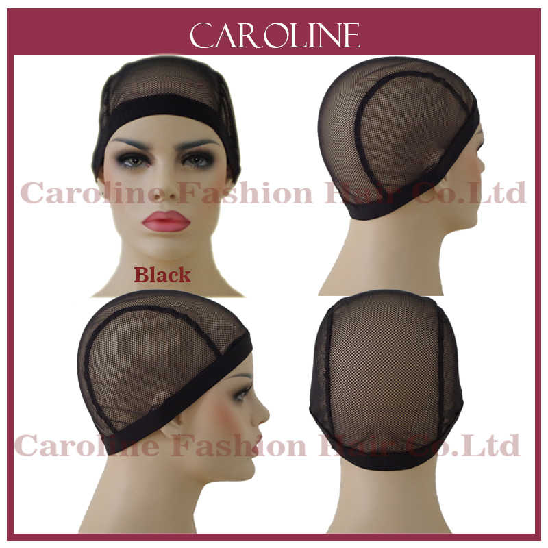 Glueless Lace Wig Cap For Making Wigs With Adjustable Straps Weaving Caps  For Women Hair Net 87f3ffaf37