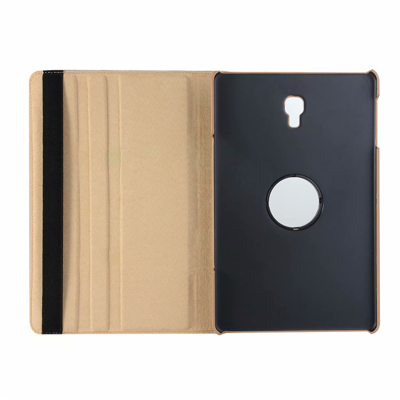 2018 New 360 Rotating Smart Case For Samsung Galaxy Tab A 10.5 T590 T595 T597 Flip Stand Leather Cover SM-T590 SM-T595+Film+Pen