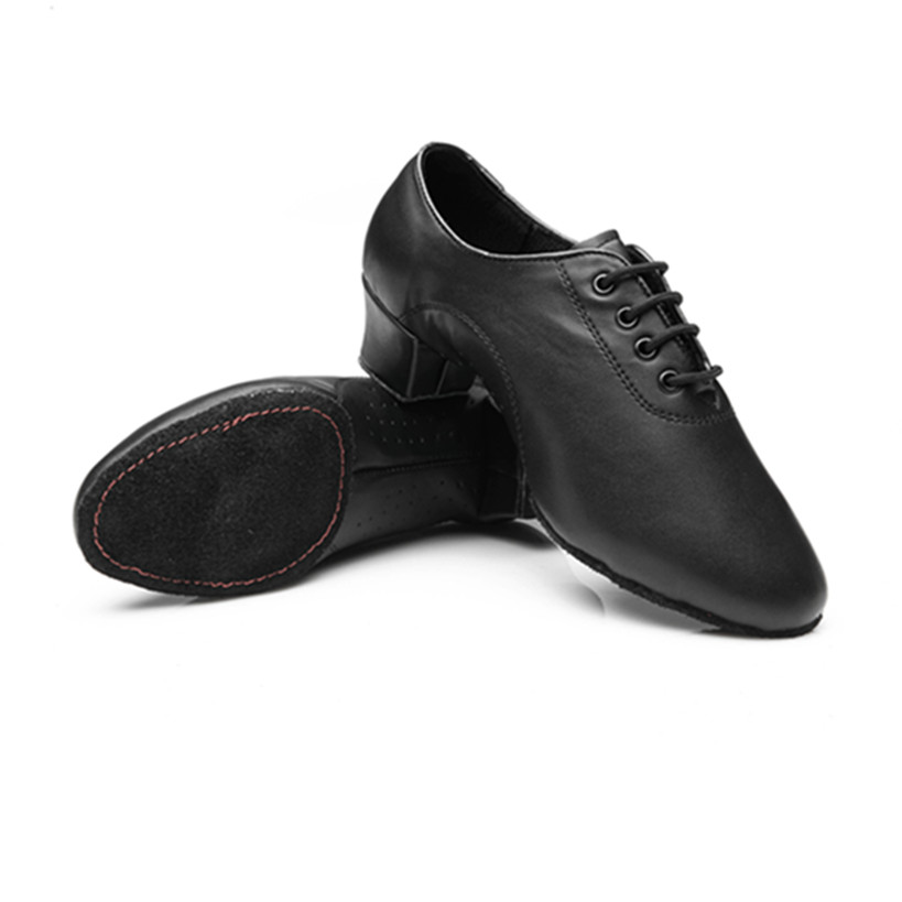 Free Shipping Black Latin Dance Shoes  Man Salsa Ballroom Waltz Betty Shoes Zapatos De Baile Latino 238