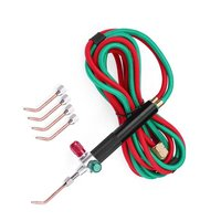 Mini tocha de gás oxigênio soldagem pistola de solda oxigênio acetileno arma para platina metal aço inoxidável solda kit ferramenta|Equipamentos de solda a gás| |  -