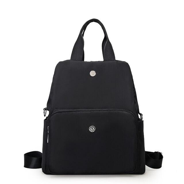 2017 new Waterproof Nylon bag female backpacks Oxford fashion Korean version of the leisure Multifunctional college bag