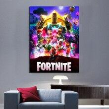 Новый видео игры две недели битва Royale плакат печать холст картина игры Искусство Настенный декор мальчик игровая комната