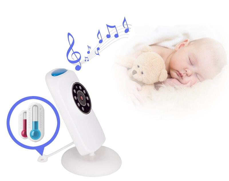 GB101 bébé téléphone caméra de surveillance 2.4 pouces LCD IR veilleuse Vision moniteur de température VOX micro enfant musique