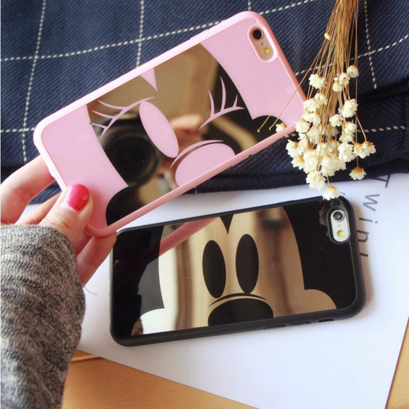 Supre Case for samsung galaxy S7 S7 edge S6 edge plus Cute cartoon Minnie Mickey Mouse soft Lovely couple back cover coque
