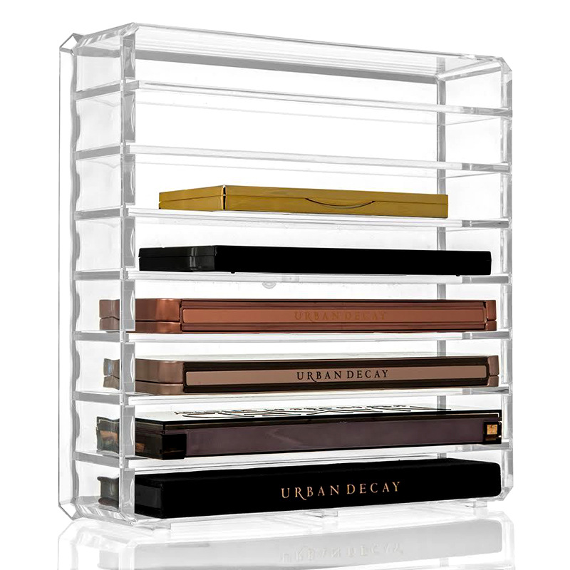 Image 3 - Cosmetics receive a box of pressed powder eye shadow boxes makeup air cushion lipstick receive rack drawer space-in Makeup Organizers from Home & Garden