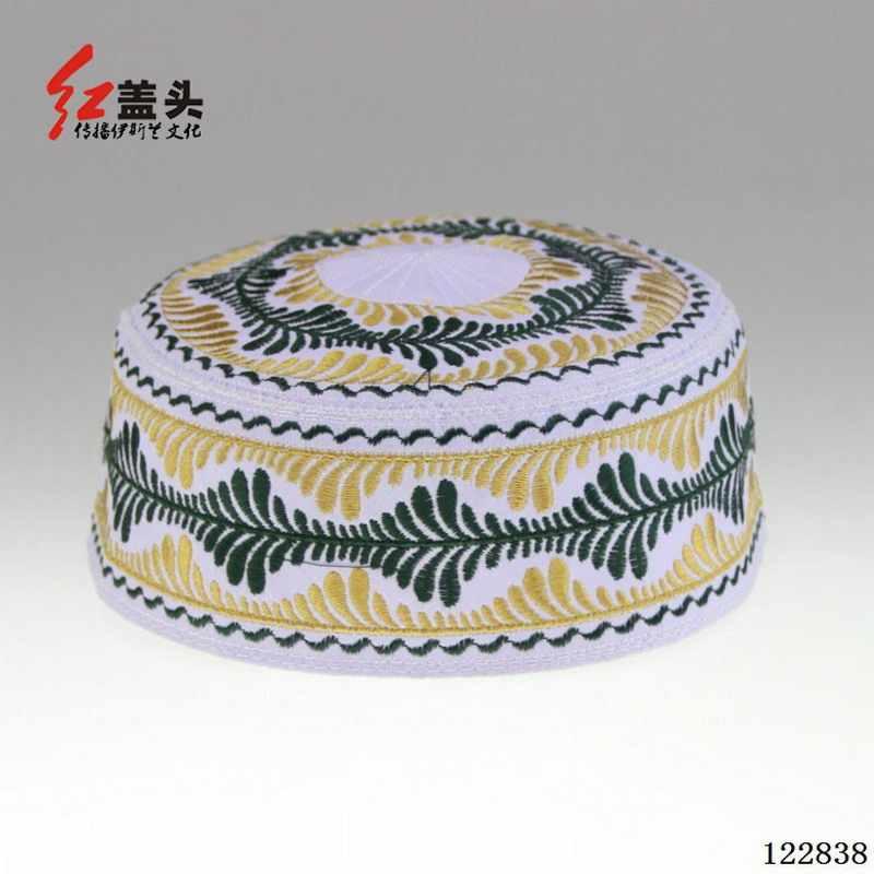 קיץ כובע מוסלמי ערבית טורבן המוסלמי בני כובעי רקום מוסלמי ילד ילד של כובע סיטונאי/dropshipping 122836