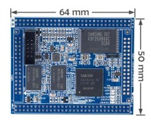 S3C2451 FriendlyARM Tiny2451 Core Conseil 256 M Flash Compatible Tiny6410/Tiny210