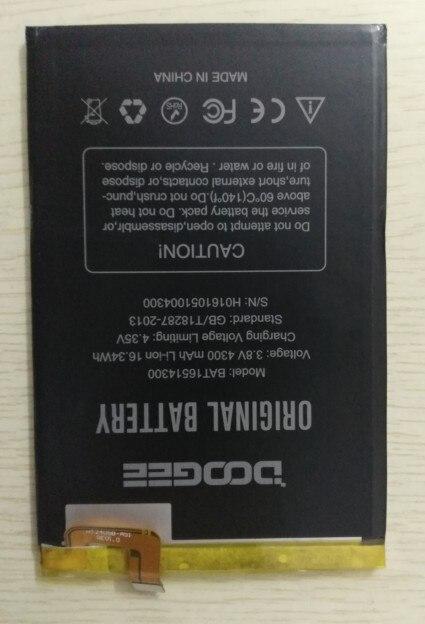 En Stock Pour Doogee Y6 Max Batterie 4300 mah Remplacement accessoire accumulateurs Pour Doogee Y6 Max + Outils + Adhésif
