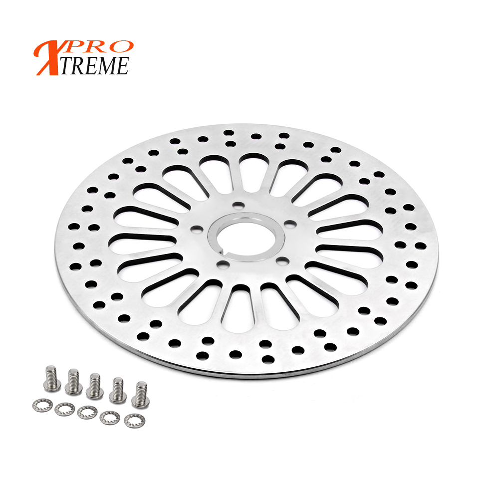 Motocycle Rear Brake Disc Rotor for HARLEY TOURING SOFTAIL SPORTSTER DYNA 1984 2008 2009 2010 2011