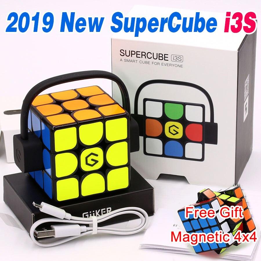 매직 큐브 퍼즐 2019 업데이트 버전 원래 xiaomi giiker 슈퍼 i3s ai 지능형 스마트 마그네틱 블루투스 app 슈퍼 큐브 z-에서매직 큐브부터 완구 & 취미 의  그룹 1