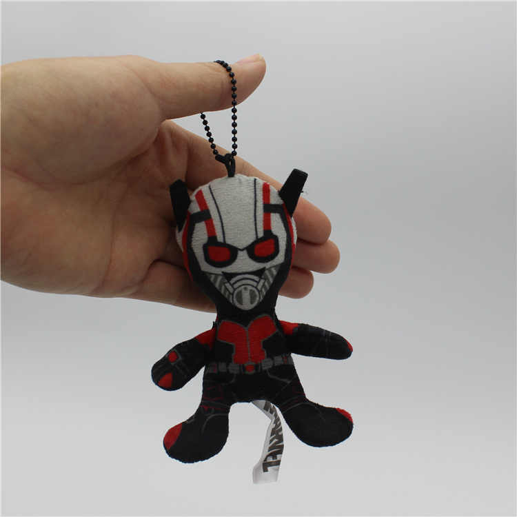 "1 piece 10 ס""מ Ant-Man קפטן אמריקה צעצועי קטיפה תליון בובת לילדים מתנות & יום הולדת ממולא צעצוע"