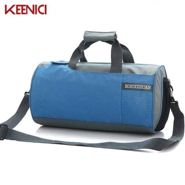Hombres bolsas de viaje Bolsa de Nylon resistente al agua de Calidad Superior Para Hombre de la Lona Bolsa de Viaje Mochila Bolso Gimnasio 40*22*22 cm