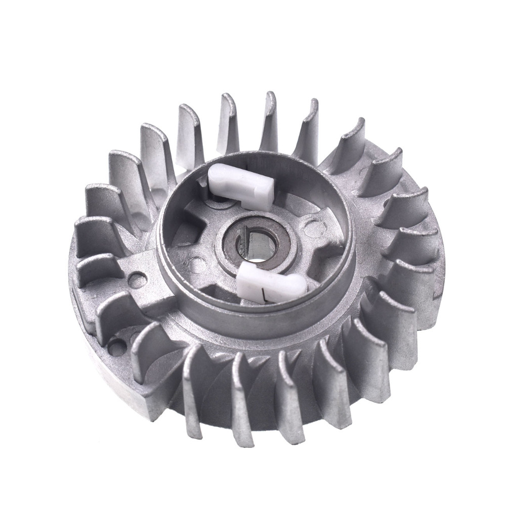 New Flywheel For 4500 5200 5800 45cc 52cc 58ccChinese Chainsaw Replacement Parts