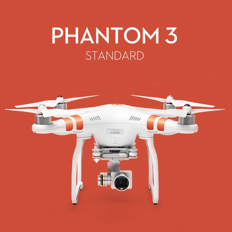 Original DJI Phantom 3 Standard FPV With 12MP font b Camera b font Shoots 2 7K