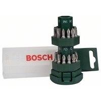 Aletler'ten Elektrikli Alet Aksesuarları'de BOSCH 2607019503 Seti DIY 25uds vidalama için Büyük Bit