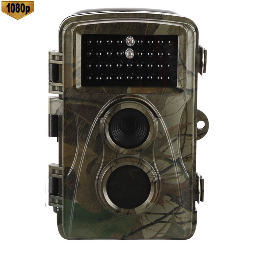 12MP 1080P HD Trail Hunting Camera Low Glow Infrared Scouting Game Camera Trap Night Vision Motion Activated Wildlife Hunter Cam skatolly hc300m digital scouting infrared hunting camera 12p video mms gprs gps night vision trap game wildlife hunter trail cam