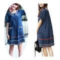 Старинные беременным платья беременность одежда большой летний плюс одежда с коротким для беременных женщин -- MKB008 PT15
