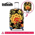 Elastic Floral Suitcase Cover for Travel Spandex Luggage Protector Cover for Women Flower Waterproof Suitcase Protective Cover
