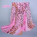Loop Leopard Pattern Silk Scarf 2016 Spring And Summer Echarpe Foulard Femme Chiffon Scarves Bufanda Muslim Hijab Headwear Sjaal