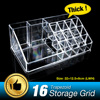 16 Grids Lipstick Holder Display Stand Clear Acrylic Cosmetic Organizer Makeup Case Storage Box Makeup Organizer