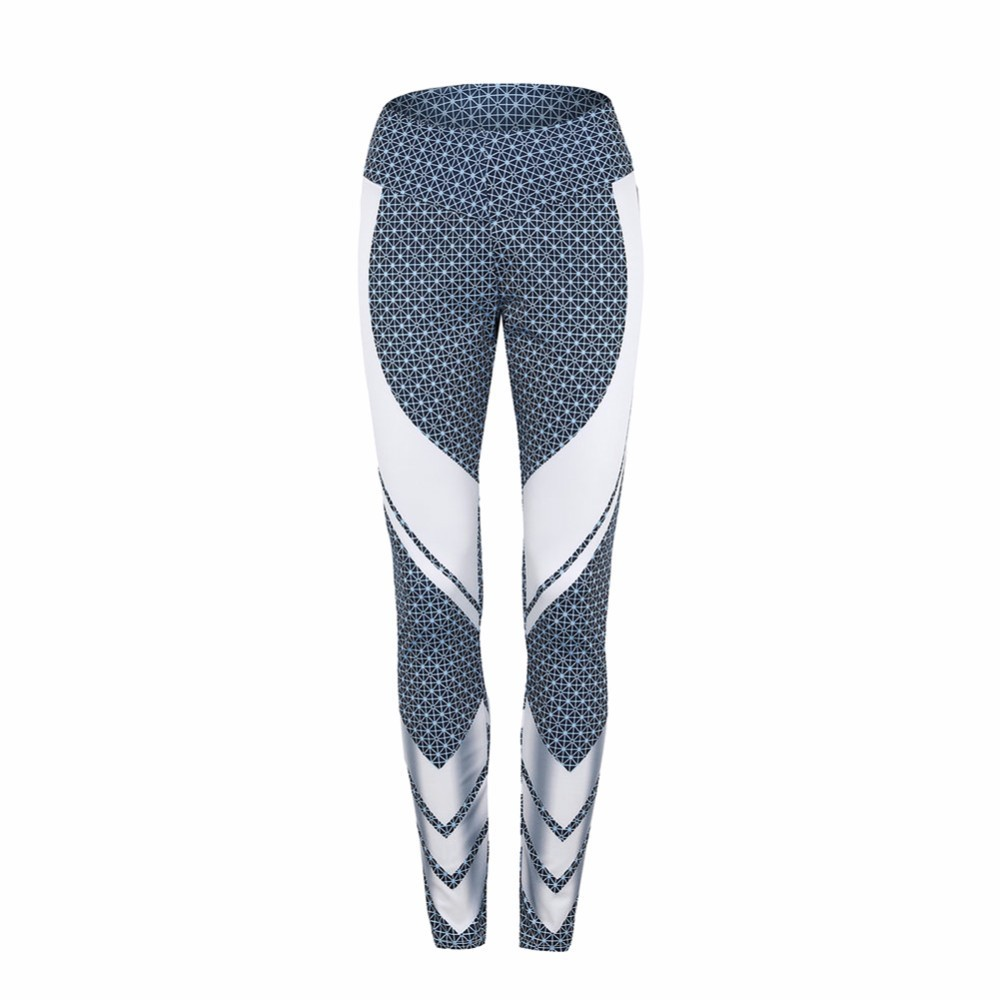 d7e28a12d5 Fitness Sport Leggings Women Patchwork Striped Yoga Pants Female Gym  Workout Tights Quick Dry Elastic Running Leggings-in Yoga Pants from Sports  ...