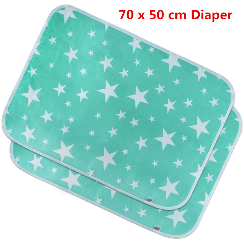 Diaper Change Sheet Diaper ChangeMat Three Layers Washable Cotton Baby Gifts Antibacterial Deodorant 70 x 50 cm HandkerchiefDiaper Change Sheet Diaper ChangeMat Three Layers Washable Cotton Baby Gifts Antibacterial Deodorant 70 x 50 cm Handkerchief