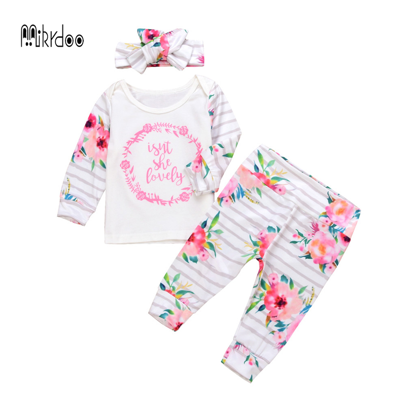 61feb3d4499e Best buy Newborn Baby Clothes Sets Spring Autumn Baby Boys girls Clothes  Long Sleeve 2017 baby sport Suits Children casual Clothing online cheap