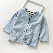 2018 Summer Spring Children Jackets Kids Clothes,Baby Single Breasted Child Coat,Children Tops Outerwear Jackets For Boys Girls(China)