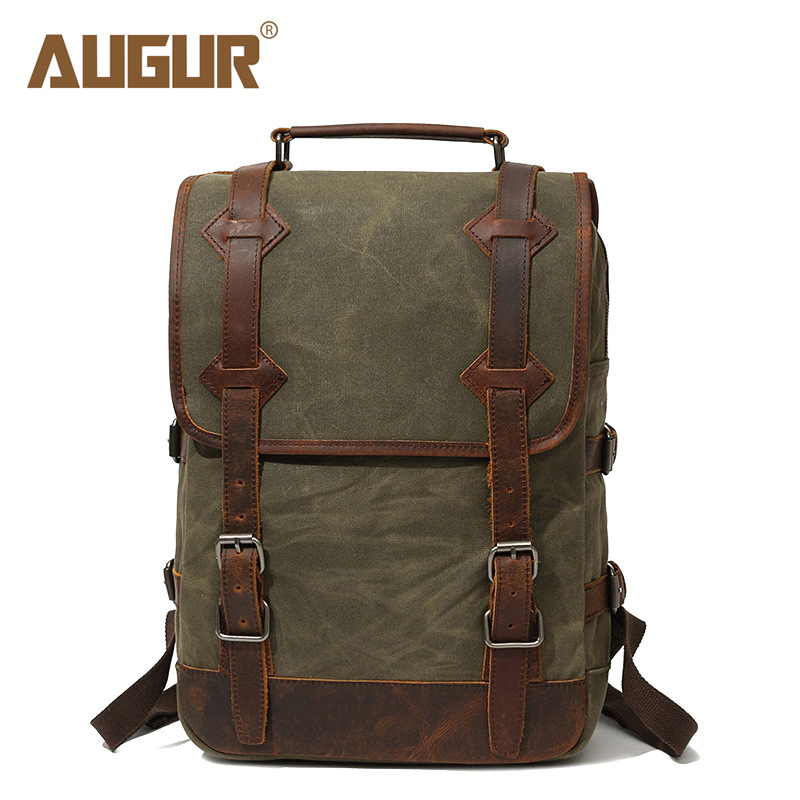 AUGUR New European Fashion Retro Style Men Canvas Bag Packs Male Female Couple Large Capacity Travel Computer Backpack Homme augur new european fashion retro style men canvas bag packs male female couple large capacity travel computer backpack homme
