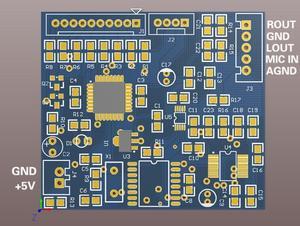 Image 5 - 0 99 100 kinds of effect DSP digital reverberation module Cara OK board mixer