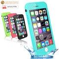 Original para iphone 6 s case slim tpu à prova de vida água à prova d' água proteção case para iphone 6 s 4.7 polegadas capa com impressão digital