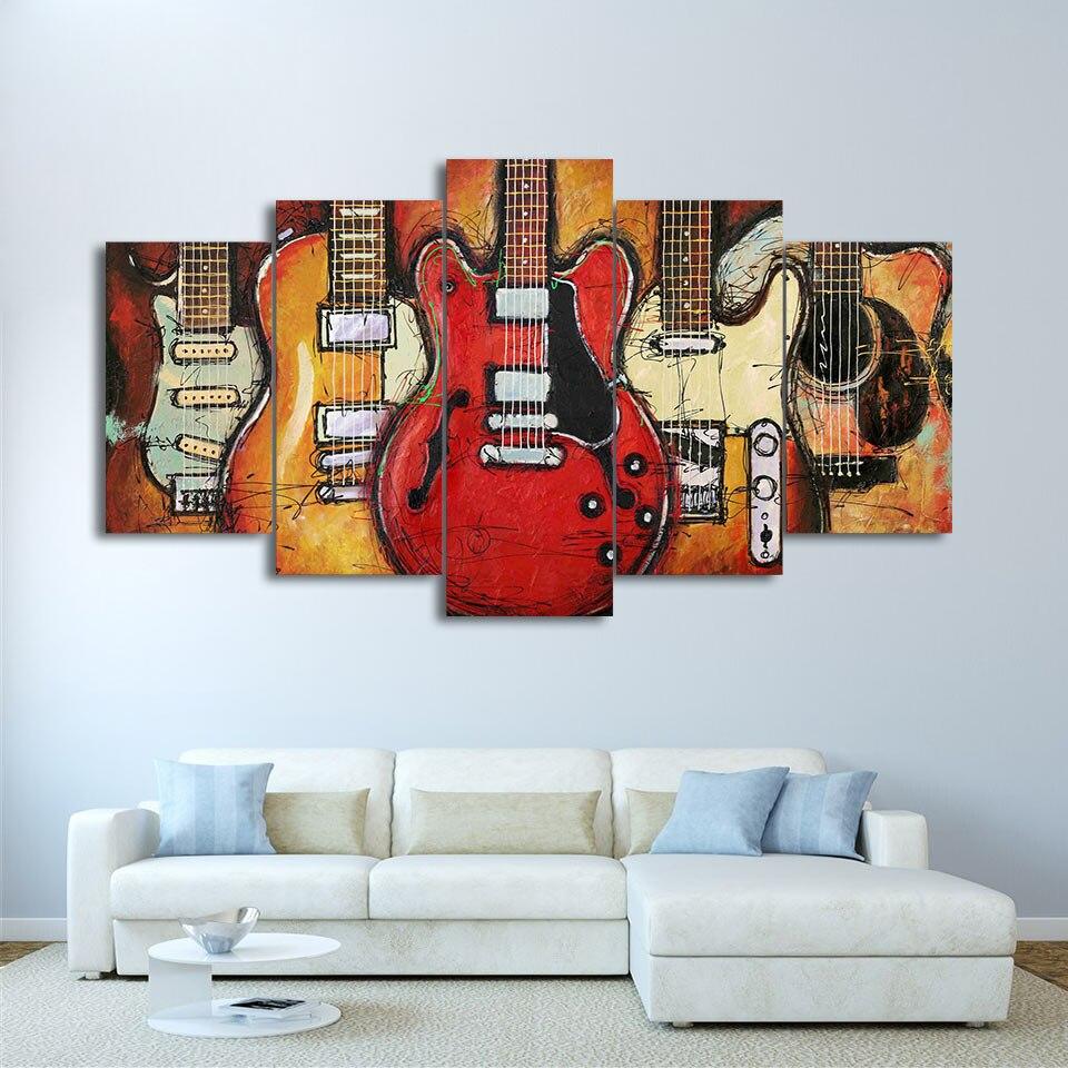 Moderna decoración del hogar del arte de la pared marco cuadros ...