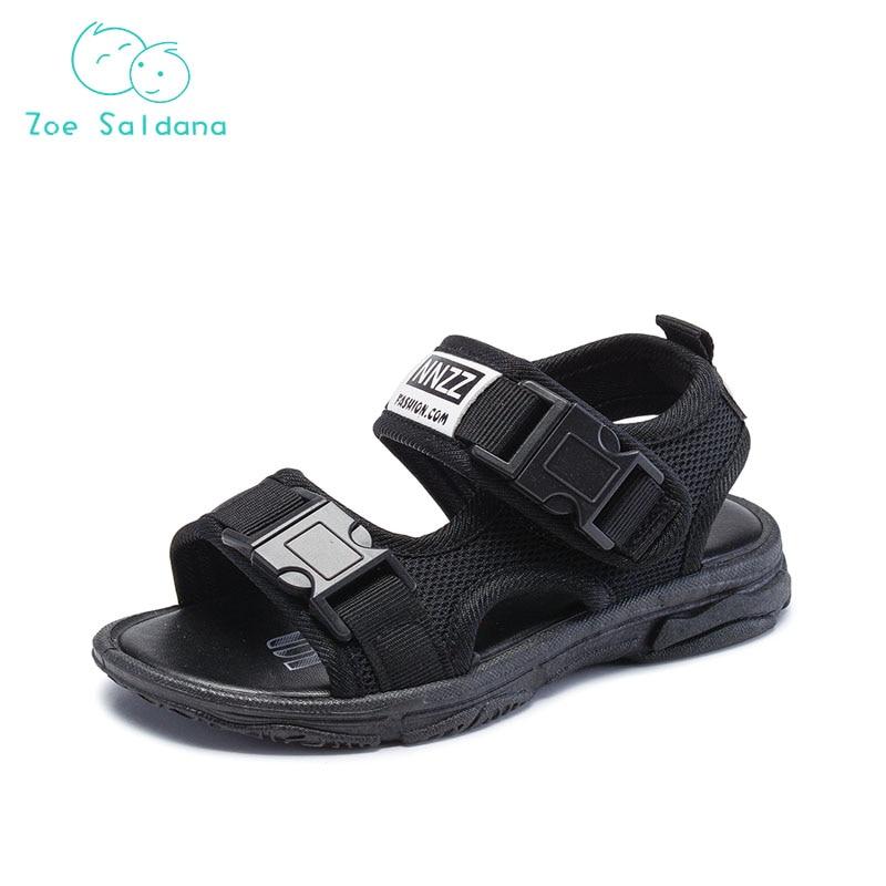 Zoe Saldana 2018 Baby Boys Summer Flat Heels Sandals Kids Toddler Casual Beach Shoes Comfortable breathable Children Shoes