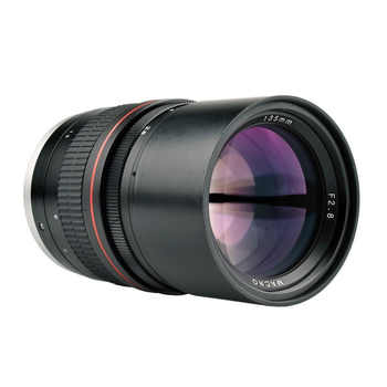 135mm F/2.8 Full Frame Manual Focus Portrait Prime Lens for Canon 1300D 700D 80D 5D2 7D Nikon D5500 D7200 D800 D3400 DSLR Camera - DISCOUNT ITEM  12% OFF All Category