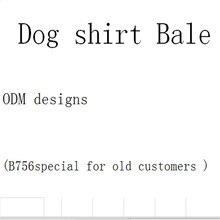 Модный узор Одежда для собак лето Рубашка с рисунком «Собаки» Повседневное топы с изображением собак Одежда для собак и щенков, одежда для домашних животных Костюмы для маленьких собак B756