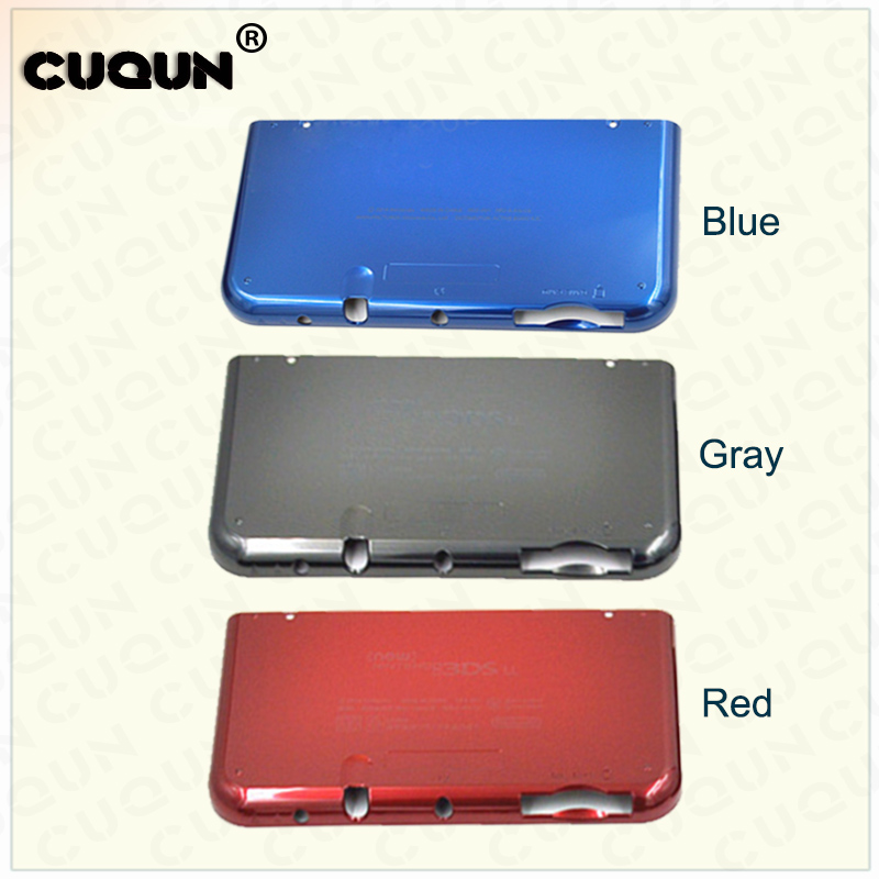 Original Brand New Battery Cover For new 3DS XL Housing Replacement Back Cover Case For new 3DS LL Shell new high quality aluminium metal skin protective hard case cover full housing case for nintendo for new 3ds xl ll console