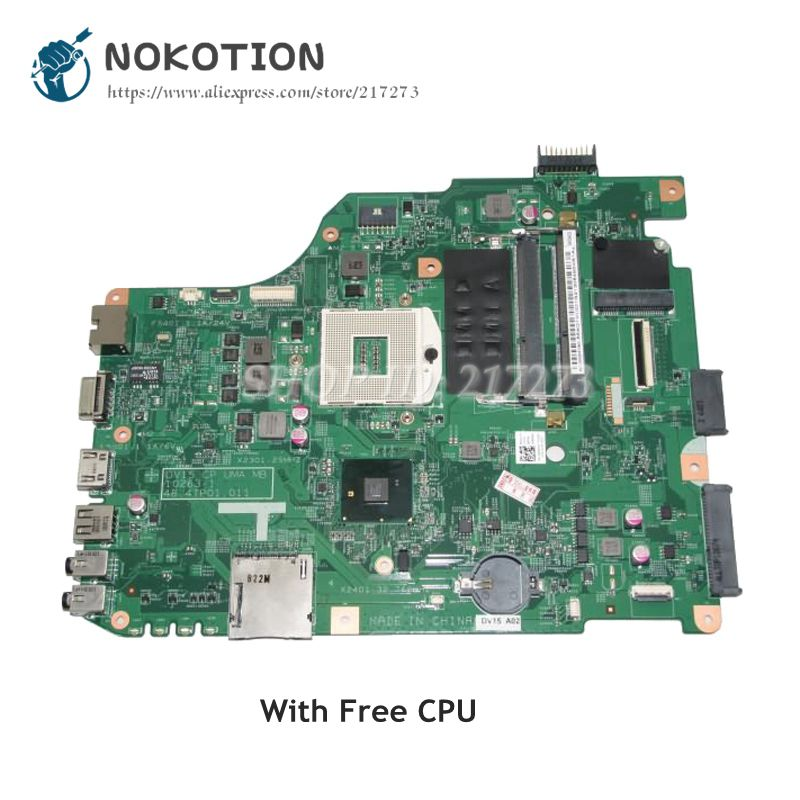 NOKOTION For Dell Vostro 1540 Laptop Motherboard 48.4IP01.011 CN-0RMRWP 0RMRWP MAIN BOARD HM57 DDR3 Free CPU title=