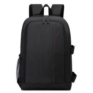 Image 3 - Waterproof Functional DSLR Backpack Camera Video Bag w/ Rain Cover SLR Tripod Case PE Padded for Photographer Canon Nikon