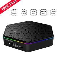 T95Z Plus 3GB 32GB 2GB 16GB Android 7 1 Smart Box Amlogic S912 Octa Core 4K