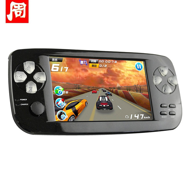 64bit os retro handheld game console 3. 0 inch preloaded 818 free.