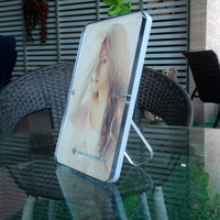 Transparent Crystal Photo Frame Creative 5 6 7 8 10 Inch Multicolour Color Side Edge Acrylic