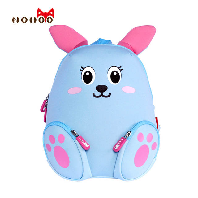 c5bc8cad7cc4 Online Shop NOHOO Little Kids Children s School Bags Backpacks 3D Cartoon  Rabbit Small Backpack Toddler Baby Girls School for 2-4 Years Old