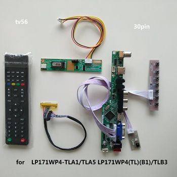 TV USB LED LCD AV VGA HDMI AUDIO Controller Board For LP171WP4-TLA1/TLA5 LP171WP4(TL)(B1)/TLB3 1440×900 17.1