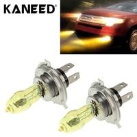 Ксеноновые фары для автомобиля лампы Kaneed ход H4 лампы фар автомобиля луковицы 12 В 100 Вт 2400 LM 3500 К желтый свет фар